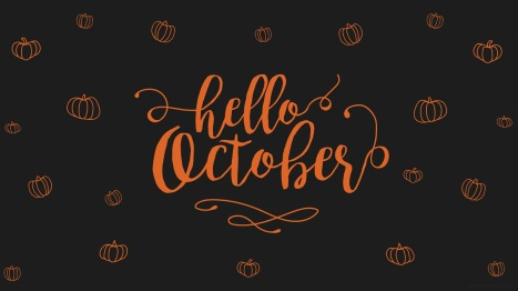 Hello October Background