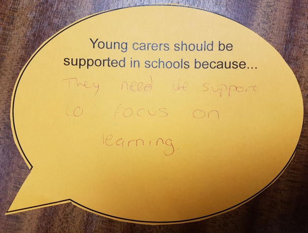 Young carers should be supported in schools